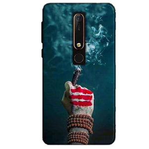 Nokia 6 2018 Mobile Covers Cases Shiva Hand With Clilam - Lowest Price - Paybydaddy.com