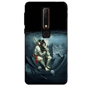 Nokia 6 2018 Mobile Covers Cases Shiva Smoking - Lowest Price - Paybydaddy.com