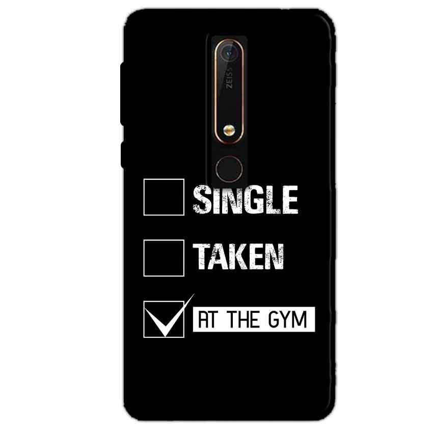 Nokia 6 2018 Mobile Covers Cases Single Taken At The Gym - Lowest Price - Paybydaddy.com