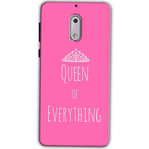 Nokia 6 Mobile Covers Cases Queen Of Everything Pink White - Lowest Price - Paybydaddy.com