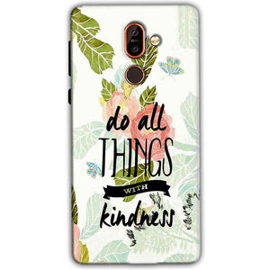 Nokia 7 plus Mobile Covers Cases Do all things with kindness - Lowest Price - Paybydaddy.com