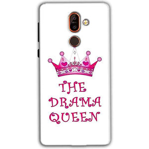 Nokia 7 plus Mobile Covers Cases Drama Queen - Lowest Price - Paybydaddy.com