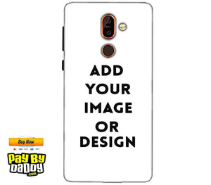 Customized Nokia 7 plus Mobile Phone Covers & Back Covers with your Text & Photo