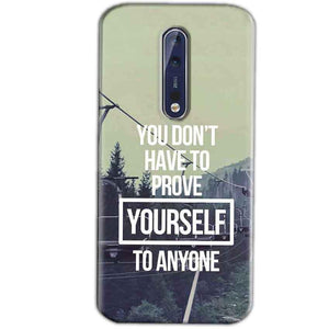 Nokia 8 Mobile Covers Cases Donot Prove yourself - Lowest Price - Paybydaddy.com