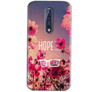 Nokia 8 Mobile Covers Cases Hope in the Things Unseen- Lowest Price - Paybydaddy.com