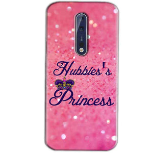 Nokia 8 Mobile Covers Cases Hubbies Princess - Lowest Price - Paybydaddy.com