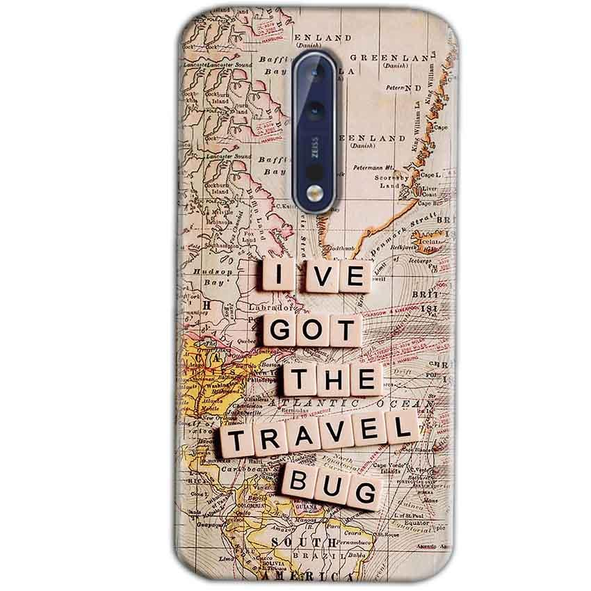 Nokia 8 Mobile Covers Cases Live Travel Bug - Lowest Price - Paybydaddy.com