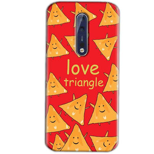 Nokia 8 Mobile Covers Cases Love Triangle - Lowest Price - Paybydaddy.com