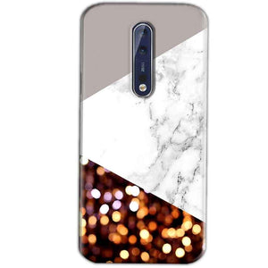 Nokia 8 Mobile Covers Cases MARBEL GLITTER - Lowest Price - Paybydaddy.com