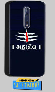 Nokia 8 Mobile Covers Cases Mahadev - Lowest Price - Paybydaddy.com