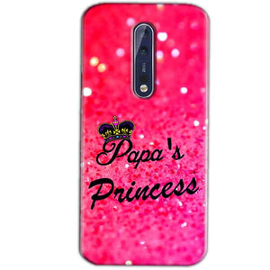 Nokia 8 Mobile Covers Cases PAPA PRINCESS - Lowest Price - Paybydaddy.com