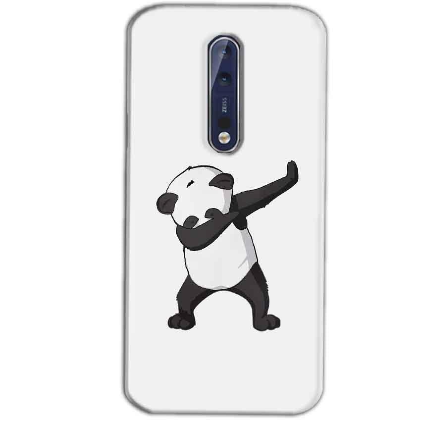 Nokia 8 Mobile Covers Cases Panda Dab - Lowest Price - Paybydaddy.com
