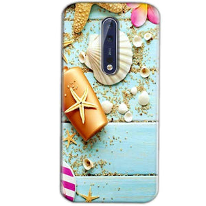 Nokia 8 Mobile Covers Cases Pearl Star Fish - Lowest Price - Paybydaddy.com