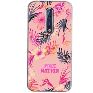 Nokia 8 Mobile Covers Cases Pink nation - Lowest Price - Paybydaddy.com