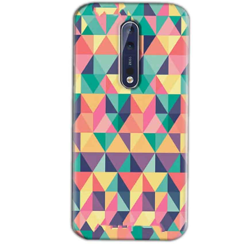 Nokia 8 Mobile Covers Cases Prisma coloured design - Lowest Price - Paybydaddy.com