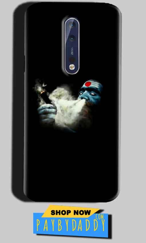 Nokia 8 Mobile Covers Cases Shiva Aghori Smoking - Lowest Price - Paybydaddy.com