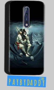 Nokia 8 Mobile Covers Cases Shiva Smoking - Lowest Price - Paybydaddy.com