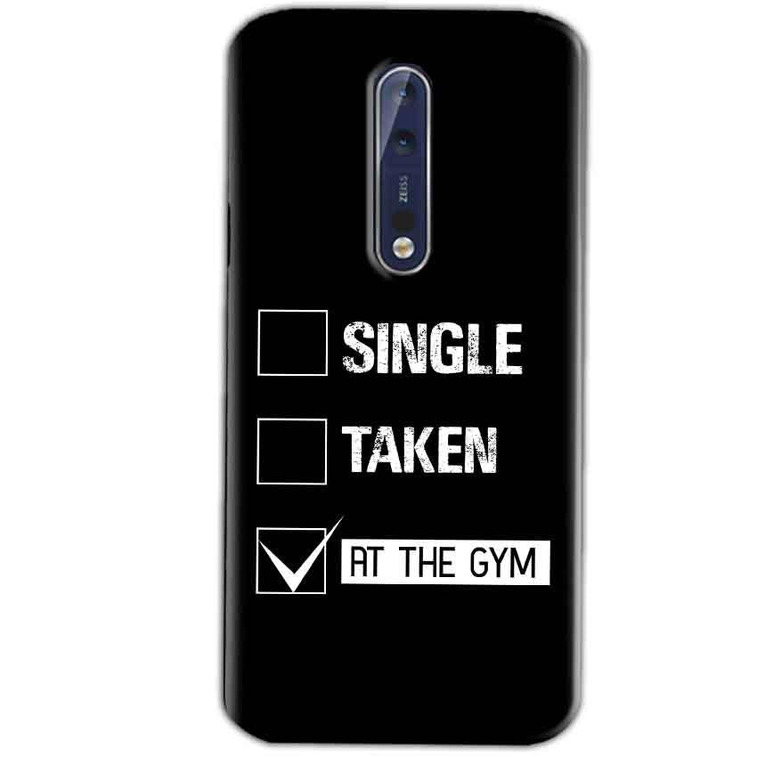 Nokia 8 Mobile Covers Cases Single Taken At The Gym - Lowest Price - Paybydaddy.com
