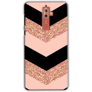 Nokia 9 Mobile Covers Cases Black down arrow Pattern - Lowest Price - Paybydaddy.com