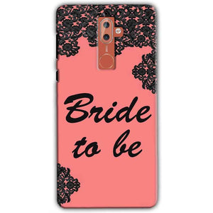 Nokia 9 Mobile Covers Cases Mobile Covers Cases bride to be with ring Black Pink - Lowest Price - Paybydaddy.com