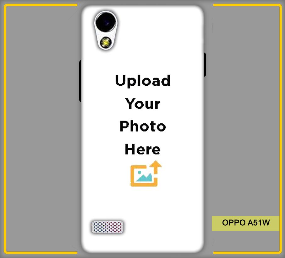 OPPO A51W Photo & Text Phone Photo Back Cover - Paybydaddy