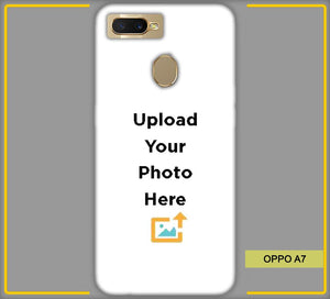 OPPO A7 Photo & Text Phone Photo Back Cover - Paybydaddy