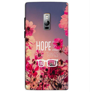 One Plus 2 Two Mobile Covers Cases Hope in the Things Unseen- Lowest Price - Paybydaddy.com