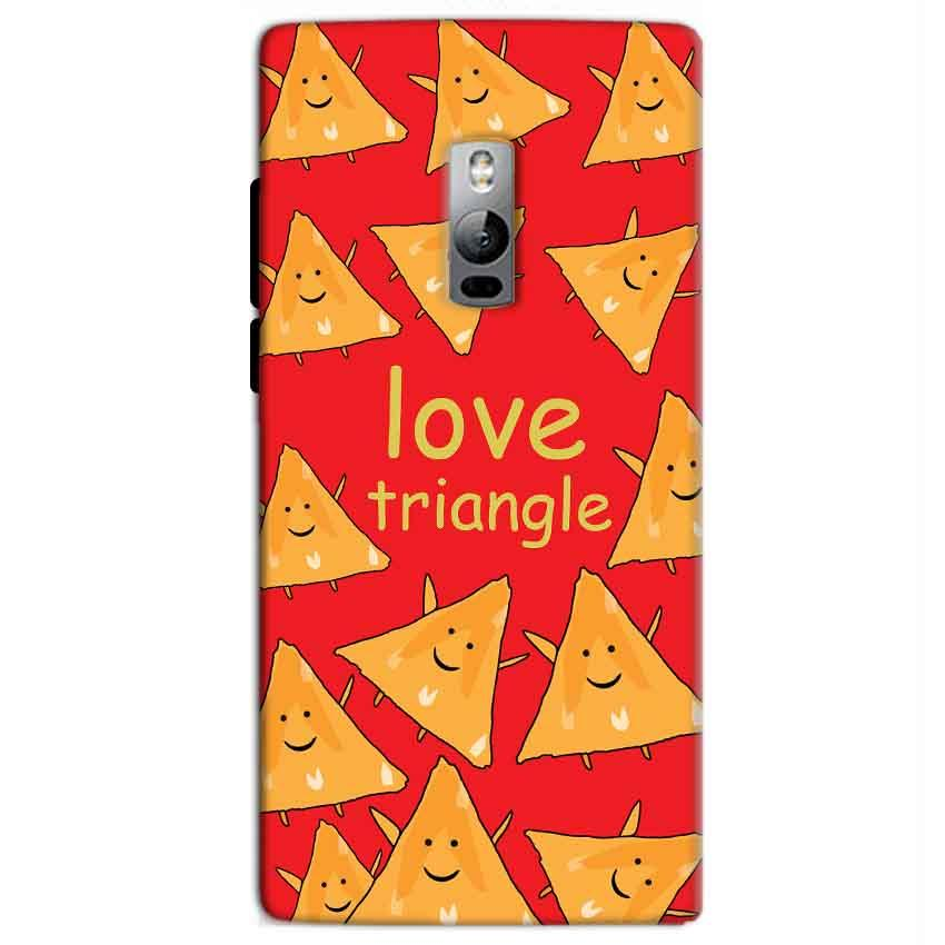 One Plus 2 Two Mobile Covers Cases Love Triangle - Lowest Price - Paybydaddy.com