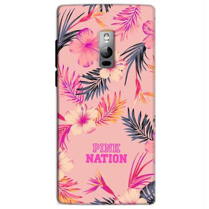 One Plus 2 Two Mobile Covers Cases Pink nation - Lowest Price - Paybydaddy.com