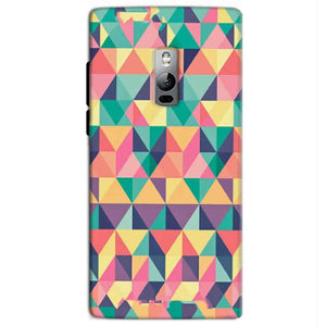 One Plus 2 Two Mobile Covers Cases Prisma coloured design - Lowest Price - Paybydaddy.com