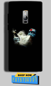 One Plus 2 Two Mobile Covers Cases Shiva Aghori Smoking - Lowest Price - Paybydaddy.com