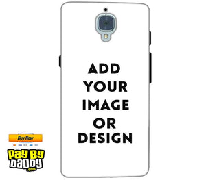 Customized One Plus 3T Mobile Phone Covers & Back Covers with your Text & Photo