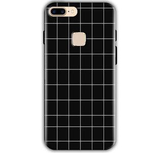 One Plus 5T Mobile Covers Cases Black with White Checks - Lowest Price - Paybydaddy.com