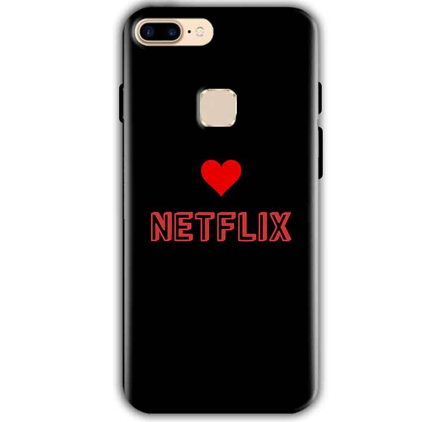 One Plus 5T Mobile Covers Cases NETFLIX WITH HEART - Lowest Price - Paybydaddy.com