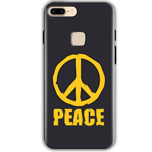 One Plus 5T Mobile Covers Cases Peace Blue Yellow - Lowest Price - Paybydaddy.com