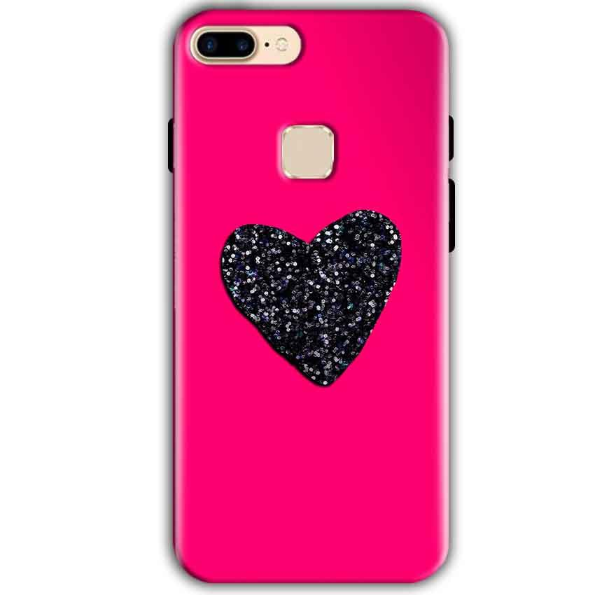 One Plus 5T Mobile Covers Cases Pink Glitter Heart - Lowest Price - Paybydaddy.com