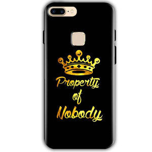 One Plus 5T Mobile Covers Cases Property of nobody with Crown - Lowest Price - Paybydaddy.com