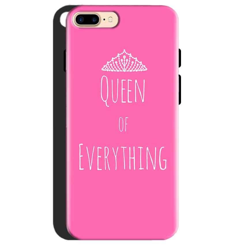 One Plus 5 Mobile Covers Cases Queen Of Everything Pink White - Lowest Price - Paybydaddy.com