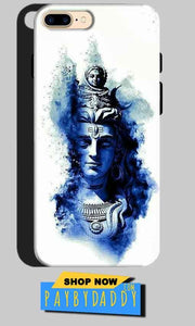 One Plus 5 Mobile Covers Cases Shiva Blue White - Lowest Price - Paybydaddy.com