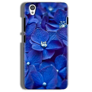 One Plus X Mobile Covers Cases Blue flower - Lowest Price - Paybydaddy.com