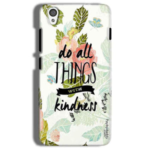 One Plus X Mobile Covers Cases Do all things with kindness - Lowest Price - Paybydaddy.com