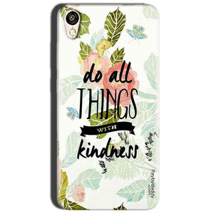 Oppo A37 Mobile Covers Cases Do all things with kindness - Lowest Price - Paybydaddy.com