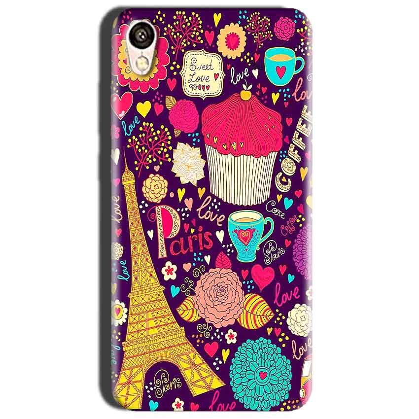 Oppo A37 Mobile Covers Cases Paris Sweet love - Lowest Price - Paybydaddy.com