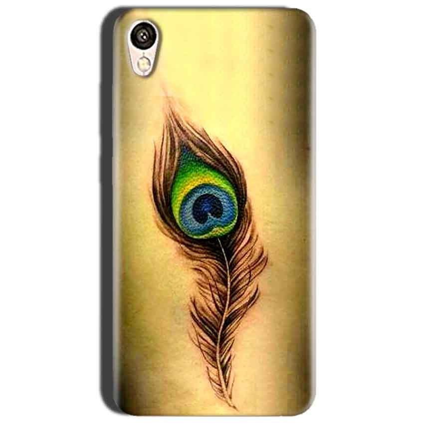 purchase cheap 4aa6f 14026 Oppo A37 Peacock coloured art Back Cover