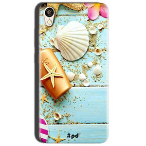 Oppo A37 Mobile Covers Cases Pearl Star Fish - Lowest Price - Paybydaddy.com