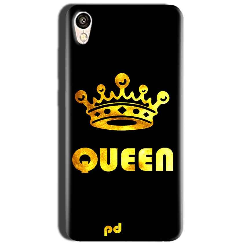 Oppo A37 Mobile Covers Cases Queen With Crown in gold - Lowest Price - Paybydaddy.com