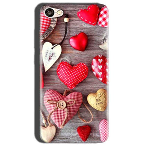Oppo A57 Mobile Covers Cases Hearts- Lowest Price - Paybydaddy.com