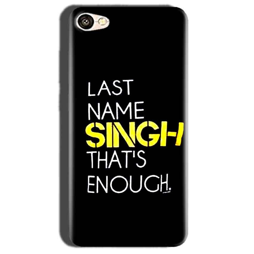 Oppo A57 Mobile Covers Cases Last Name Singh- Lowest Price - Paybydaddy.com