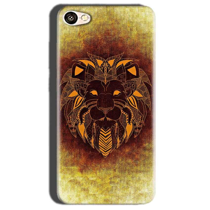Oppo A57 Mobile Covers Cases Lion face art - Lowest Price - Paybydaddy.com