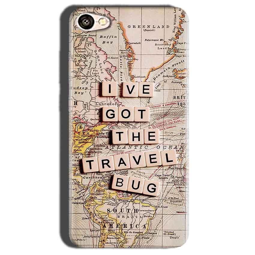 Oppo A57 Mobile Covers Cases Live Travel Bug - Lowest Price - Paybydaddy.com